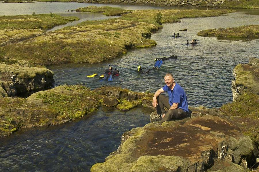 Snorklere I Silfrasprækken